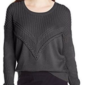 Ella Moss Womens Lena Cable Knit Sweater
